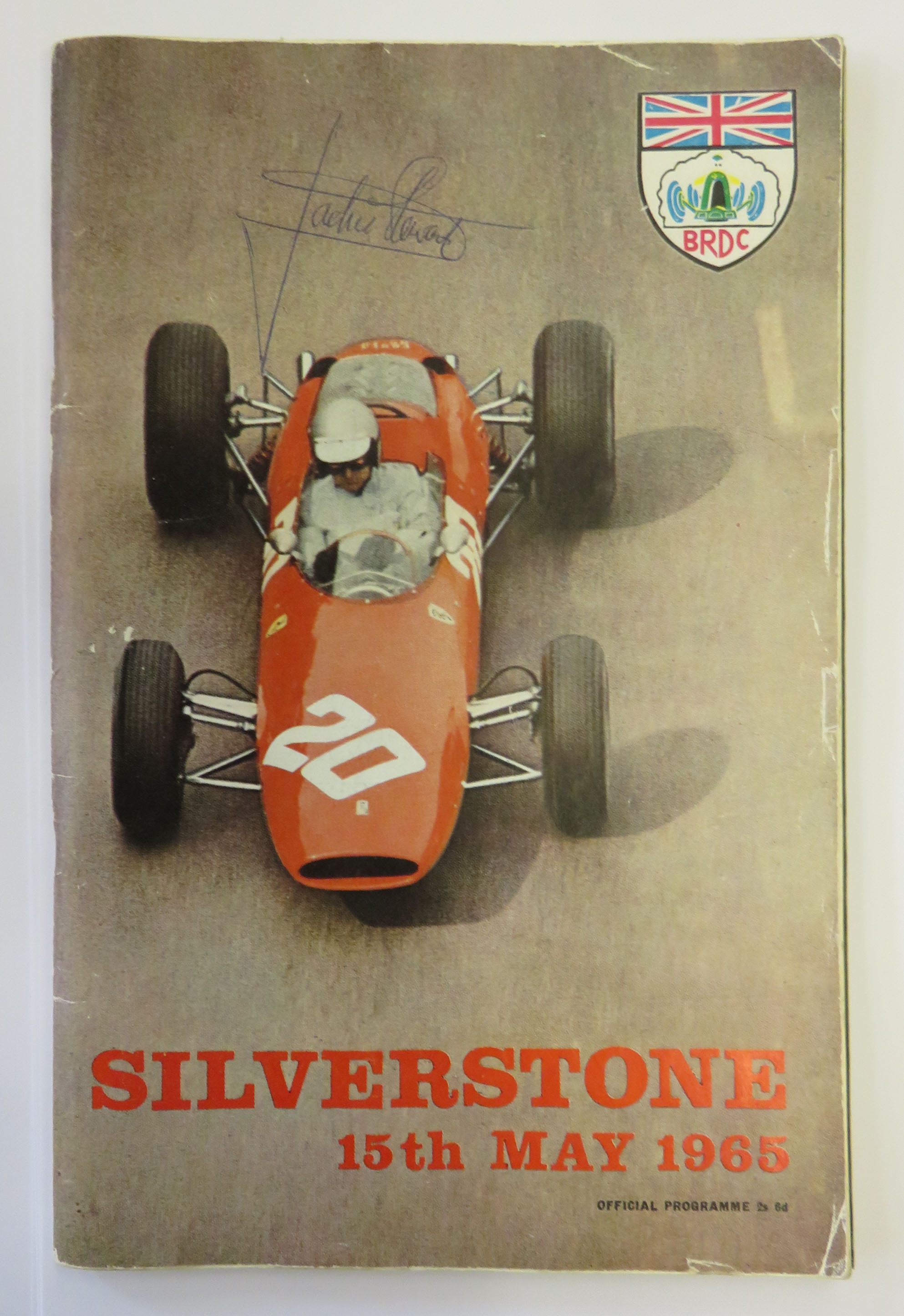 Silverstone Official Programme 15th May 1965