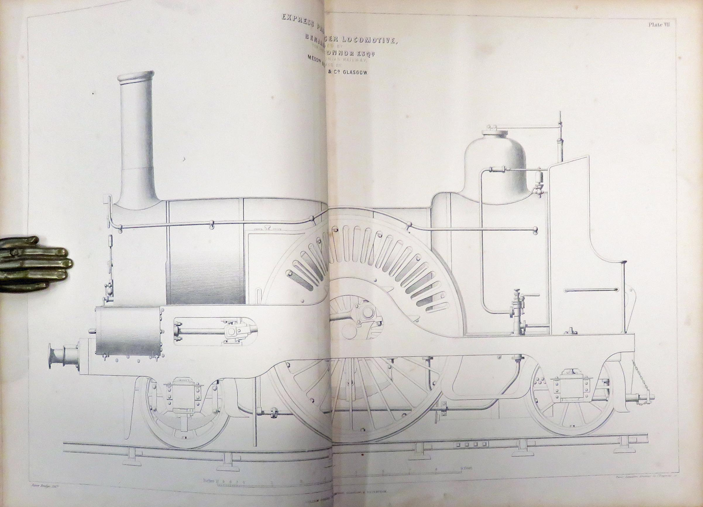 Locomotive Engineering, and The Mechanism of Railways: A Treatise on the Principles and Construction of The Locomotive Engine, Railway Carriages, and Railway Plant, with Examples in two volumes