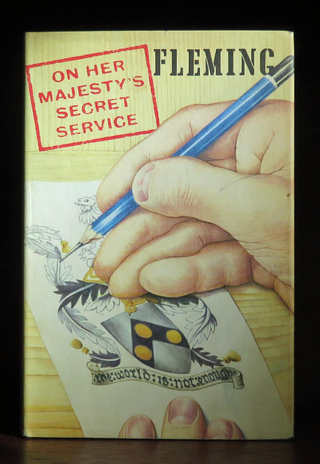 **On Her Majesty's Secret Service Signed Association Copy by Fleming