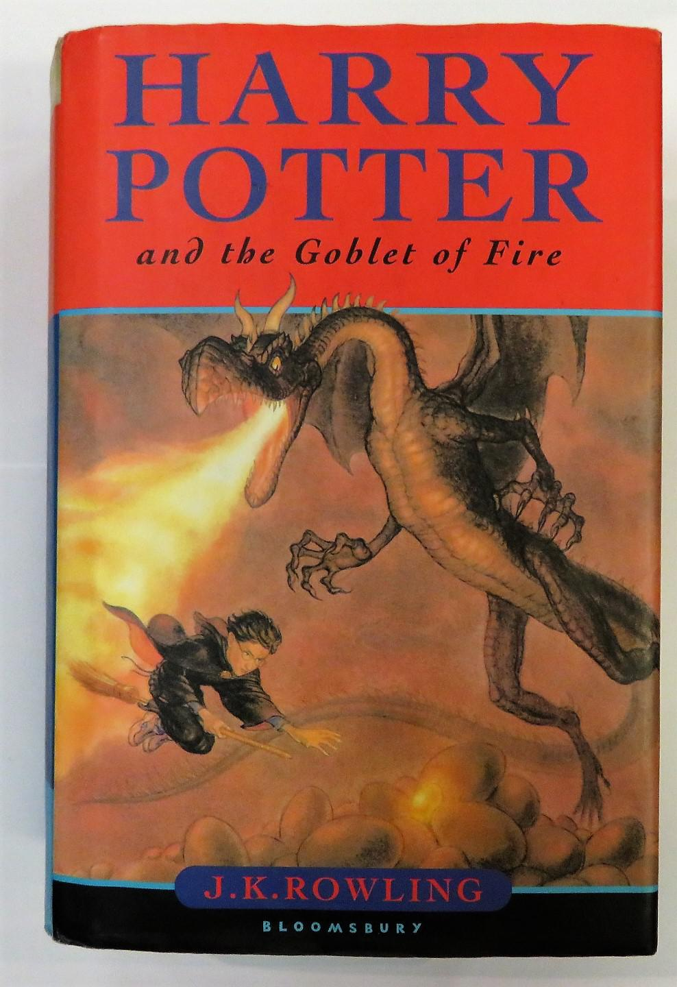 Harry Potter and the Goblet of Fire Signed First Edition