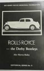 Rolls-Royce - the Derby Bentleys