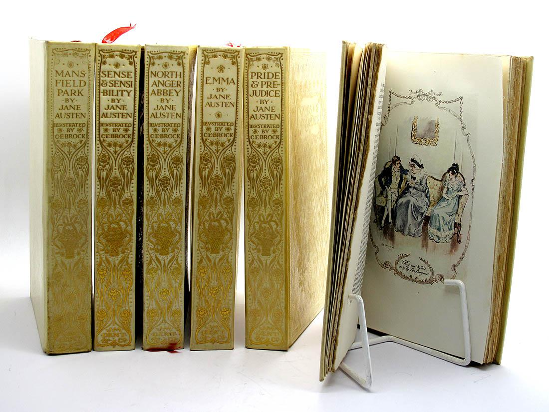 The Works of Jane Austen - Complete Set in Six Volumes