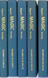 Hugard's Magic Monthly Volumes I-XXI in Seven Books