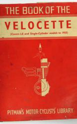 Pitman's Motor Cyclists Library The Book Of The Velocette