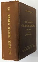**John Wisden's Cricketers' Almanack For 1931 Hardback