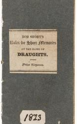 A Treatise on the Game of Draughts