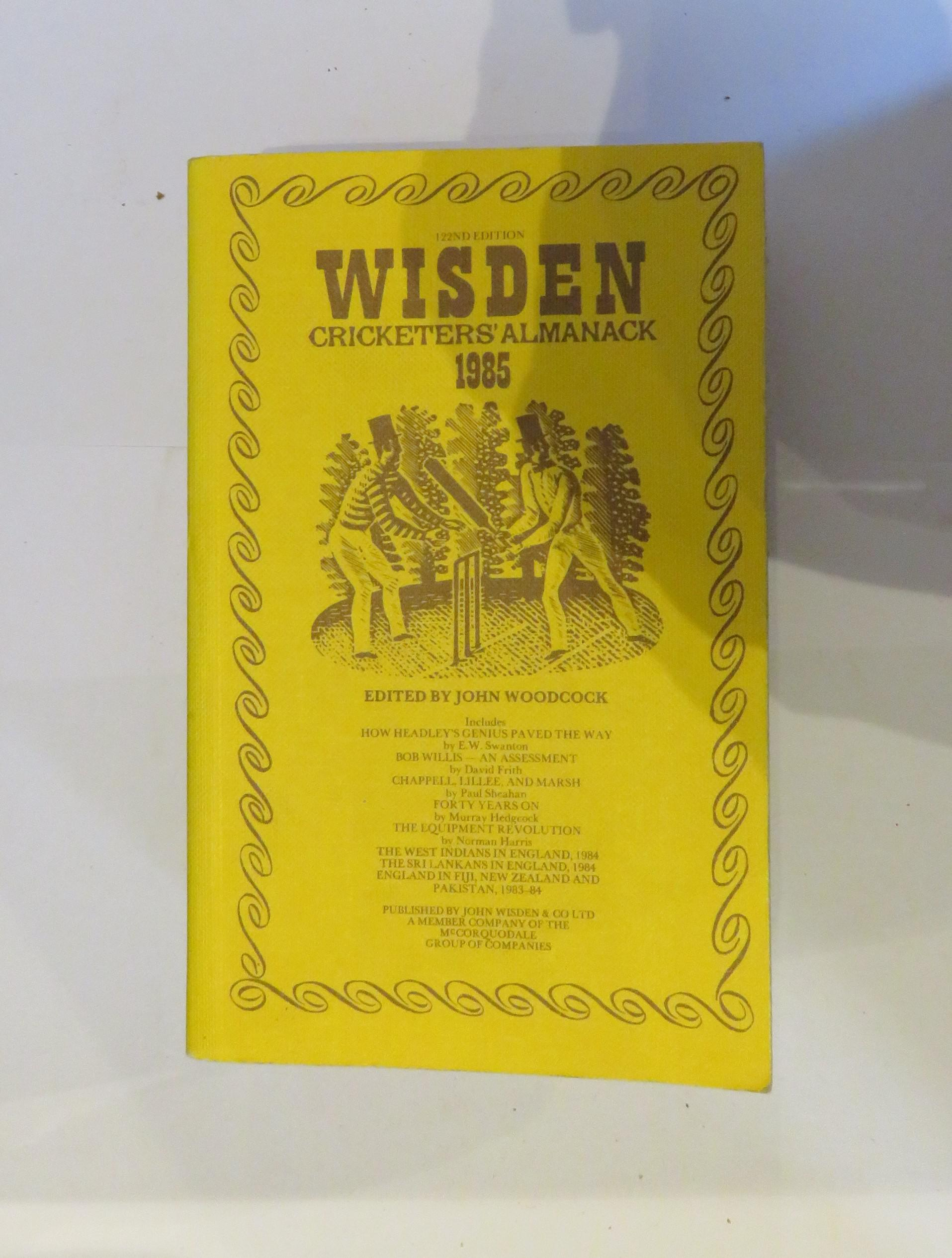 Wisden Cricketers' Alamnack 1985