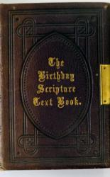 The Birthday Scripture Text Book
