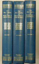 The War Speeches of the Rt Hon Winston S Churchill in Three Volumes
