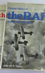 Pictorial History Of the RAF Two Volumes only