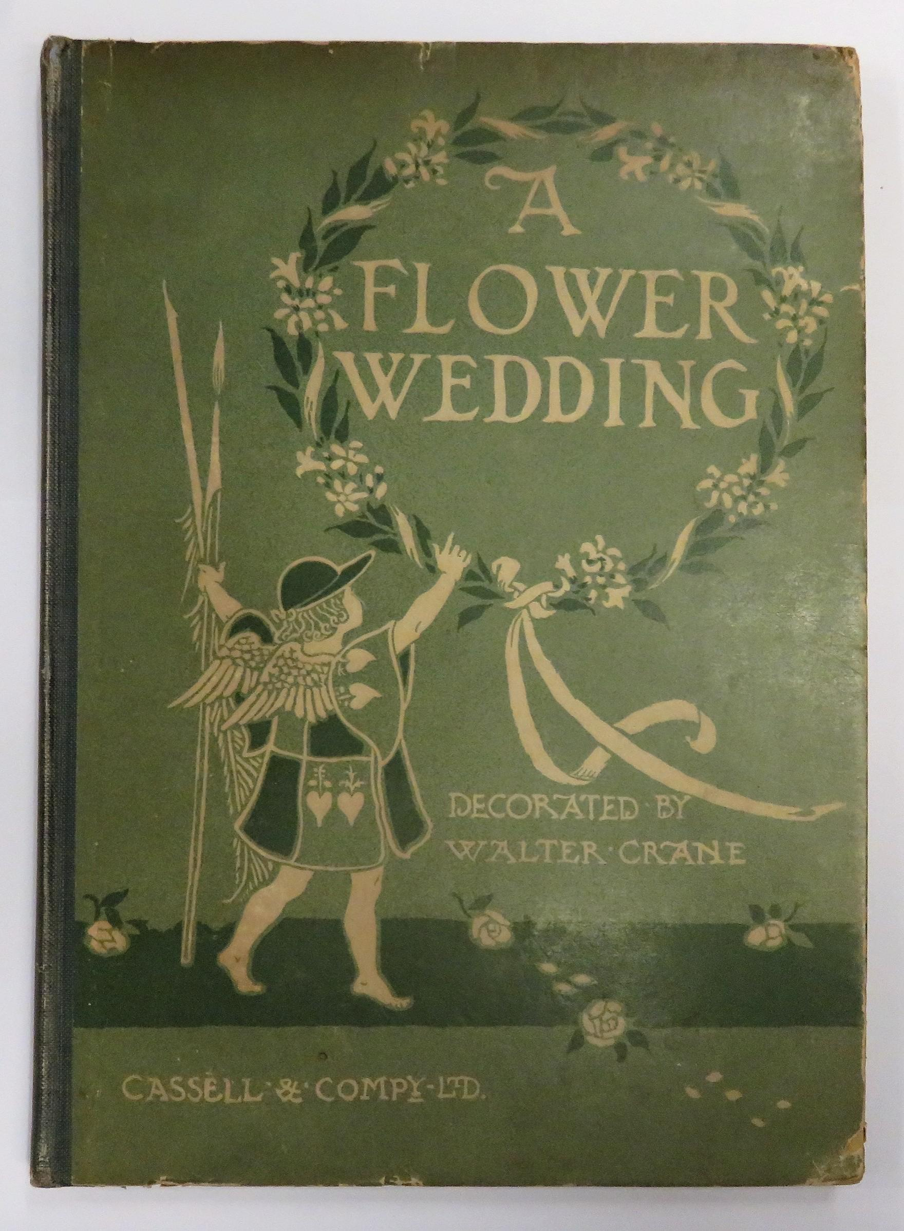 A Flower Wedding Described By Two Wallflowers Decorated By Walter Crane