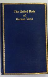 The Oxford Book of German Verse Das Oxforder Buch Deutscher Dichtung