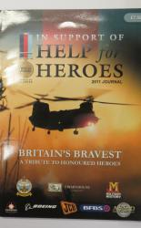 In Support of Help for Heroes 2011 Journal