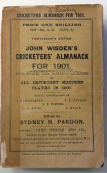**John Wisden's Cricketers' Almanack For 1901