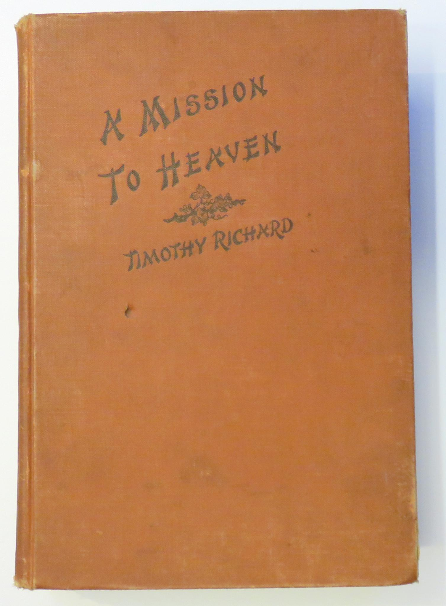 A Mission To Heaven A Great Chinese Epic and Allegory