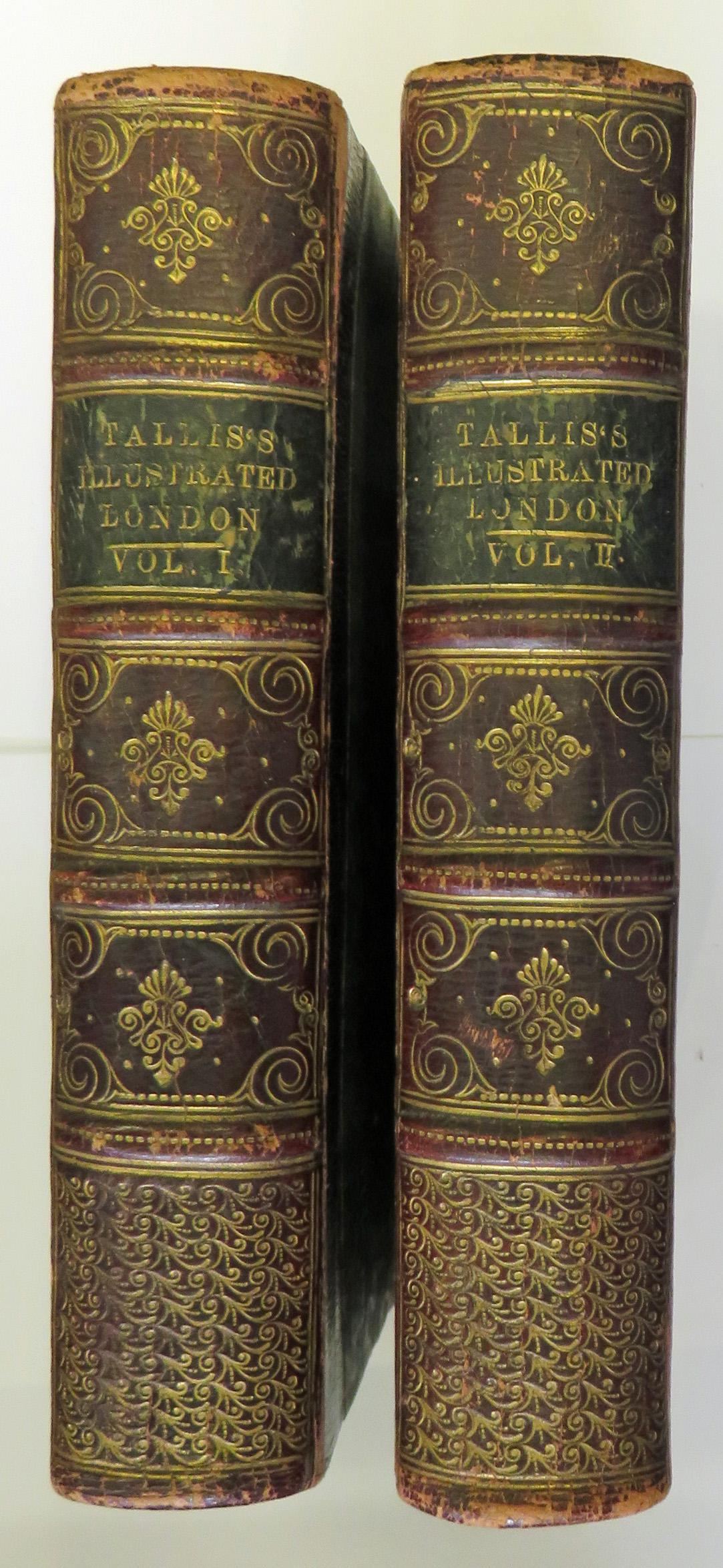 Tallis's Illustrated London In Commemoration of The Great Exhibition of 1851 in 2 volumes complete