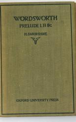 Wordsworth The Prelude Books I,II, and Parts of V, and XII in one book