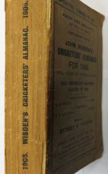 **John Wisden's Cricketers' Almanack For 1905 Softback