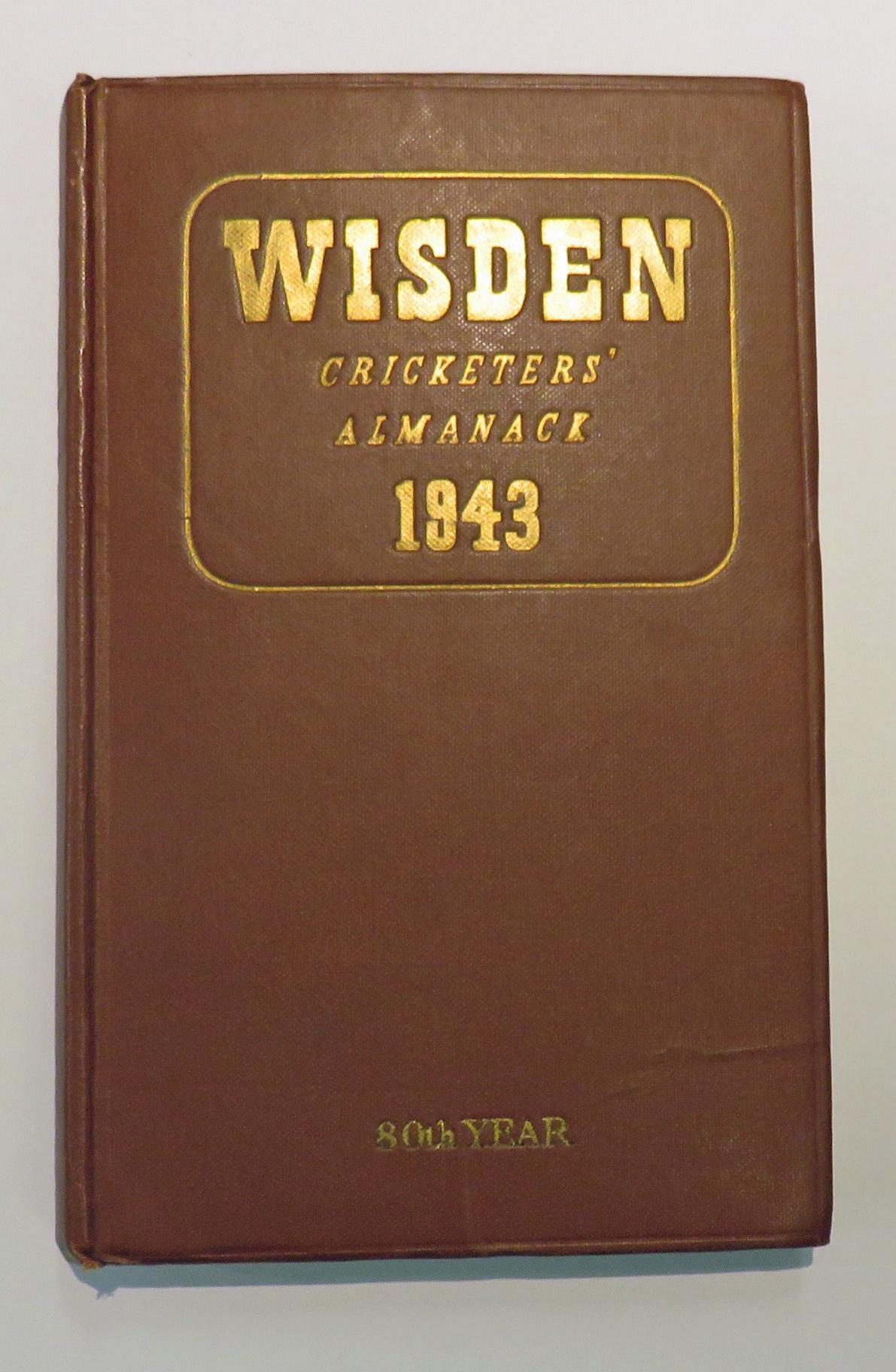 **Wisden's Cricketers' Almanack For 1943**