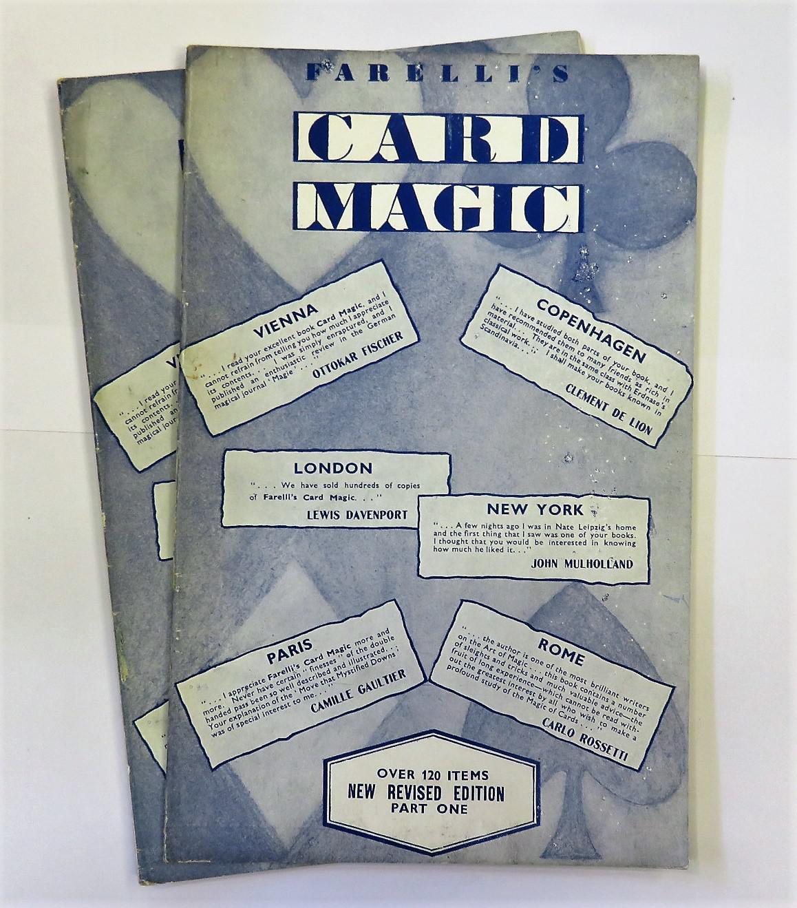 Farelli's Card Magic in two volumes