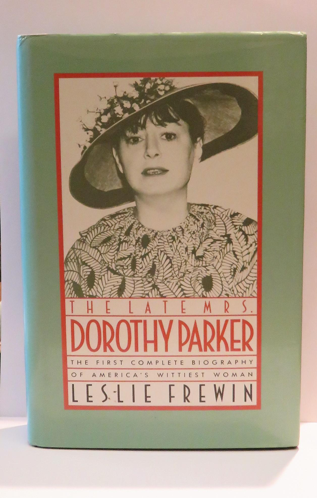 The Late Mrs Dorothy Parker