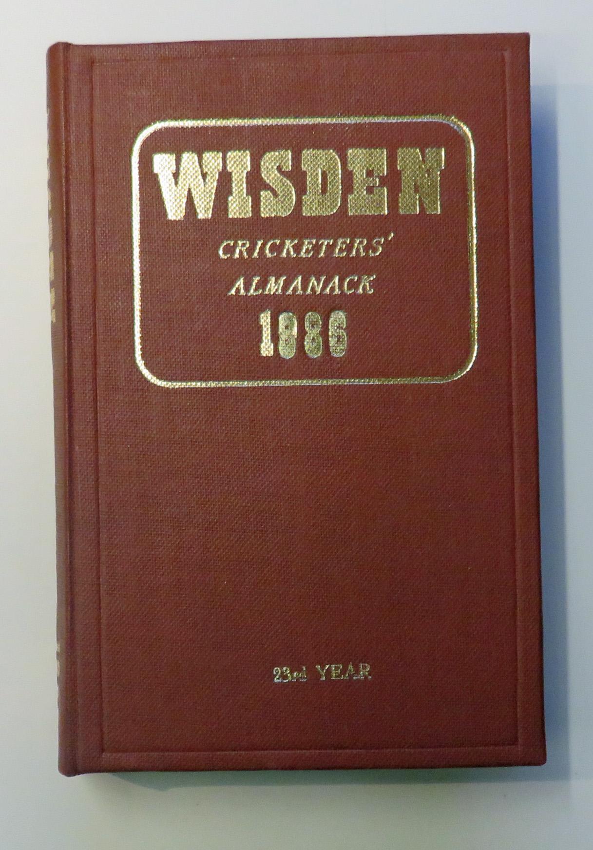 John Wisden's Cricketers' Almanack For 1886