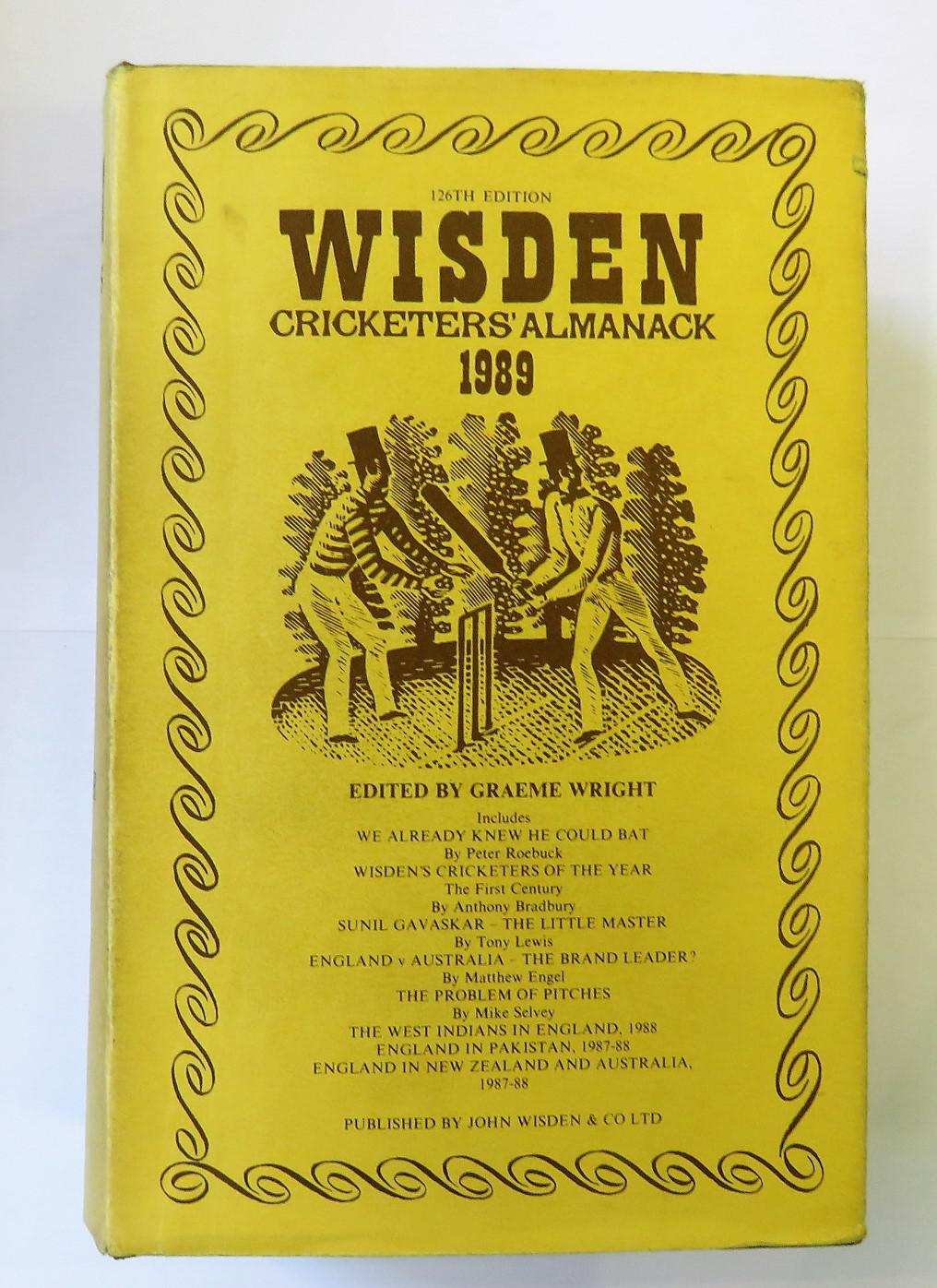 Wisden Cricketers' Almanack 1989