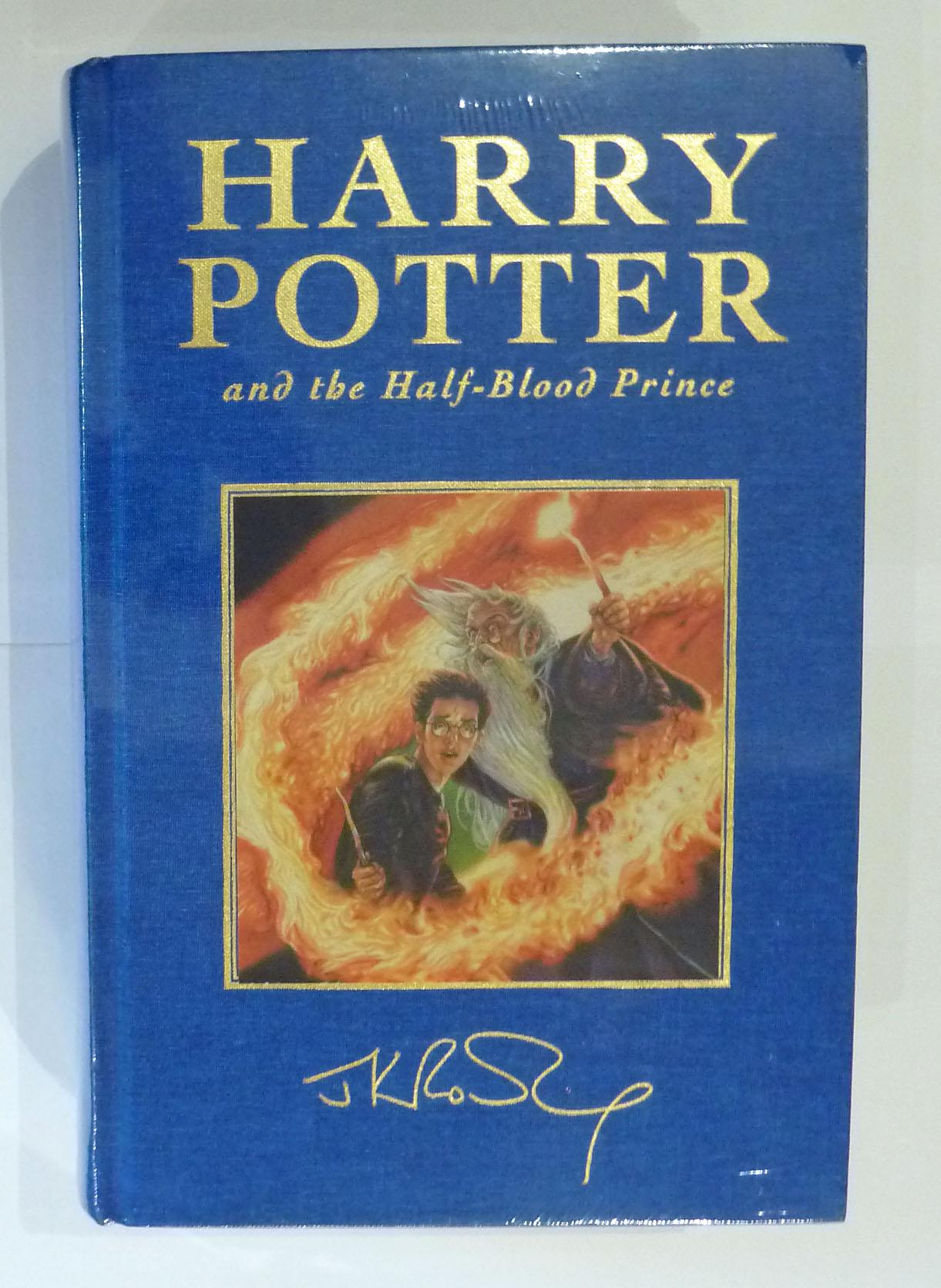 Harry Potter and the Half Blood Prince De-Luxe Edition