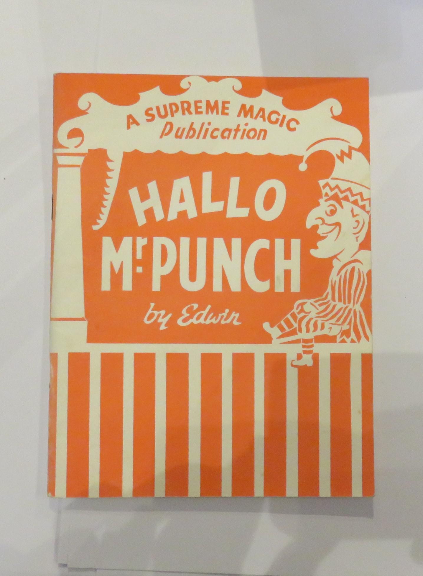 Hallo Mr Punch
