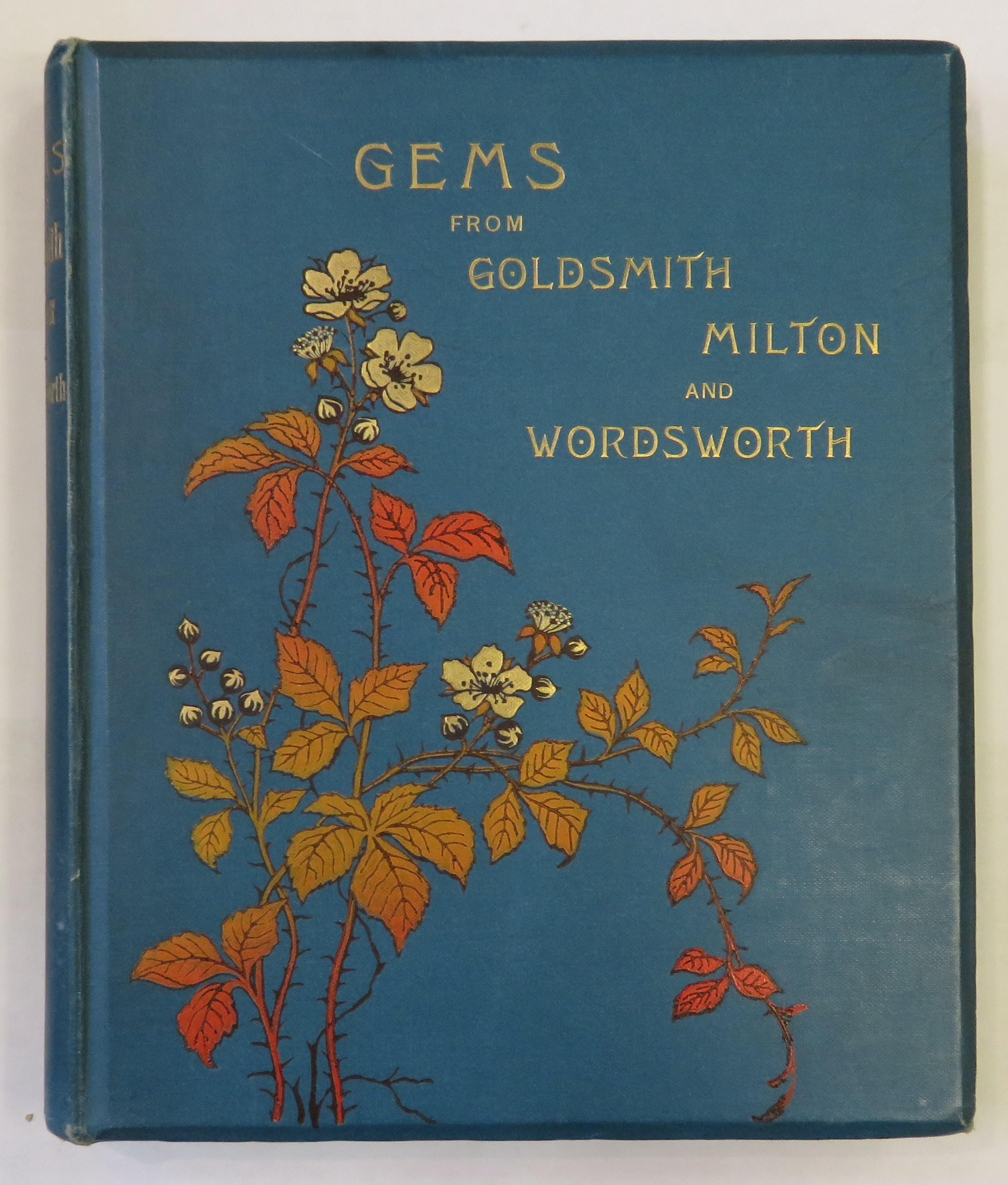 Gems from Goldsmith, Milton, and Wordsworth