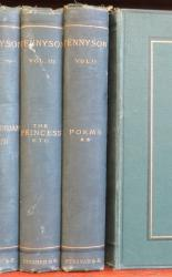 The Works Of Alfred Tennyson Poet Laureate Six Volumes