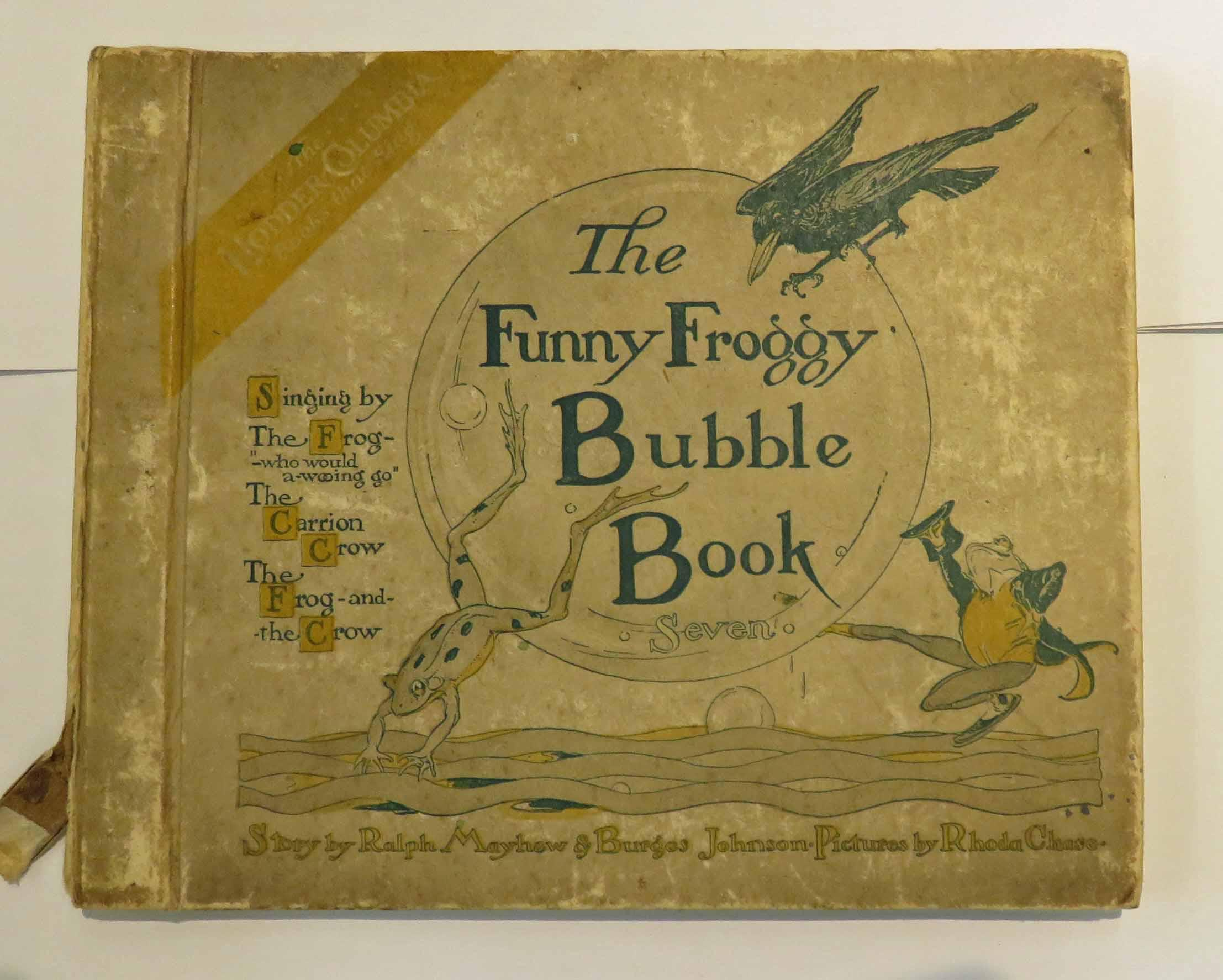 The Funny Froggy Bubble Book The Seventh