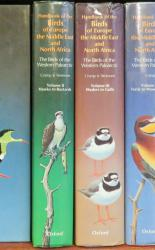 Handbook of the Birds of Europe the Middle East and North Africa The Birds Of The Western Palearctic Seven Volumes