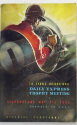7th Annual International Daily Express Trophy Meeting Silverstone May 7th 1955