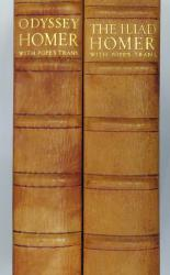 The Iliad and Odyssey of Homer in Two Volumes