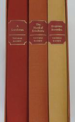 Desperate Remedies, The Hand of Ethelberta, A Laodicean. Three Volume Folio Society Boxed Set