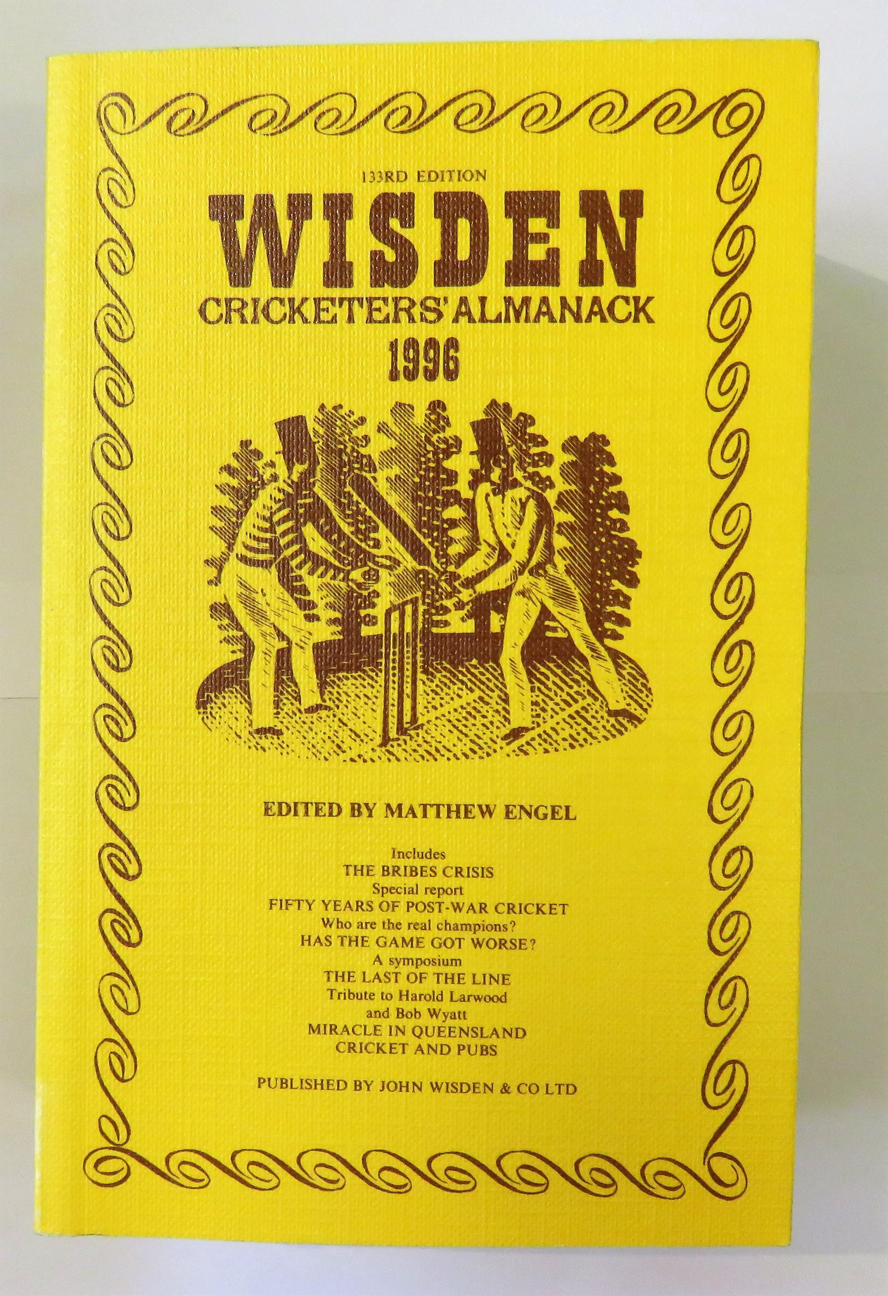Wisden Cricketers' Almanack 1996