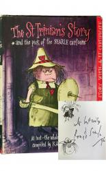 The St Trinian's Story with Original Sketch by Ronald Searle
