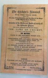 **Wisden Cricketer's Almanack for the Year 1868