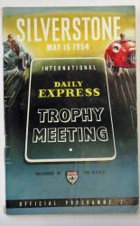 Silverstone May 15 1954 Daily Express Trophy Meeting