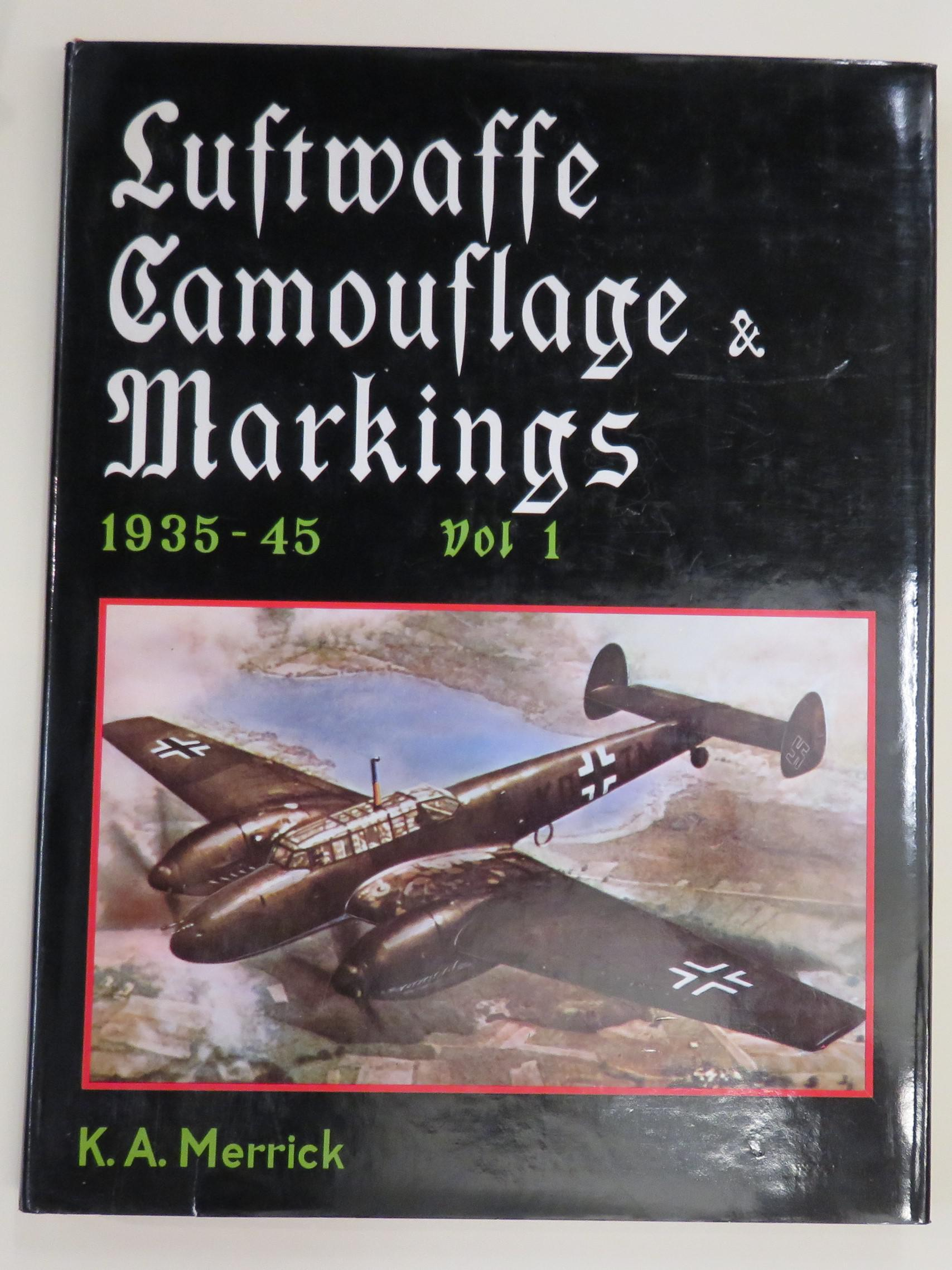 Luftwaffe Camouflage and Markings 1935-45: Complete in Three Volumes