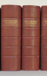 **John Wisden's Cricketers' Almanack Run 1920-1929 Inclusive