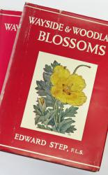 The Wayside And Woodland Series Blossoms three volumes