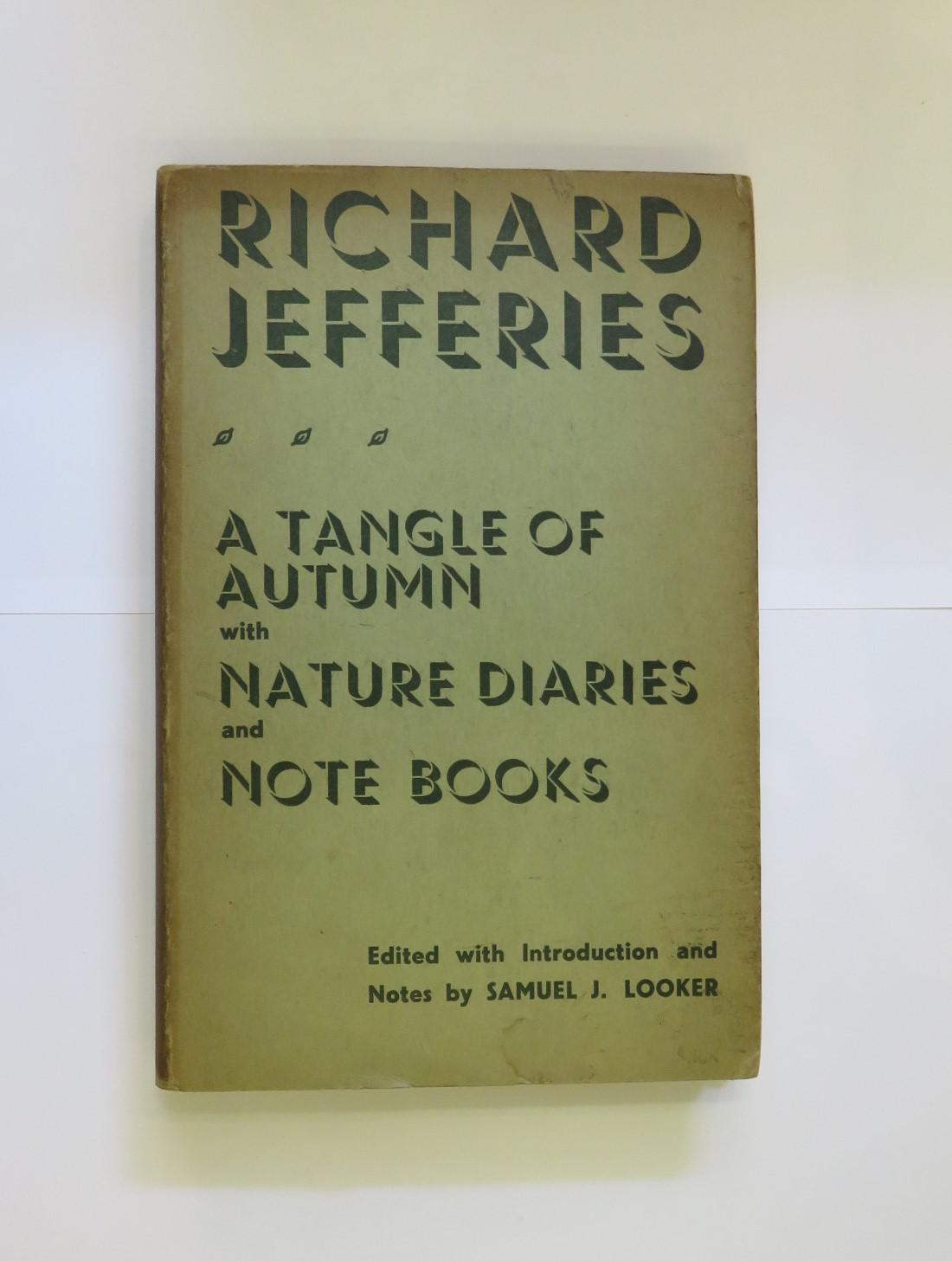 The Nature Diaries and Note-Books of Richard Jefferies