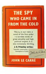 The Spy Who Came in from the Cold SIGNED