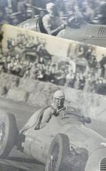 Alberto Ascari racing his Maserati and Peter Walker Photographic Images