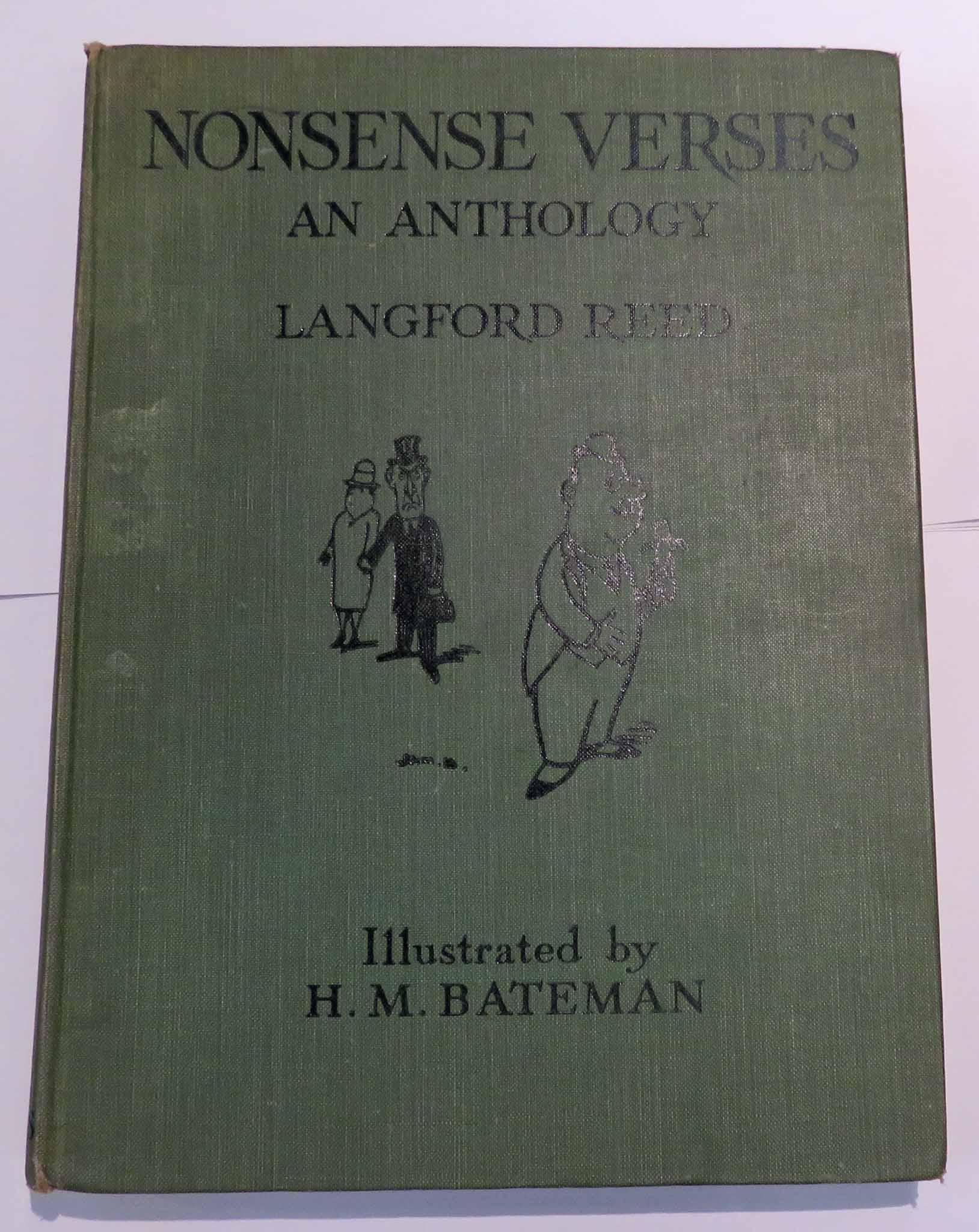 Nonsense Verses An Anthology