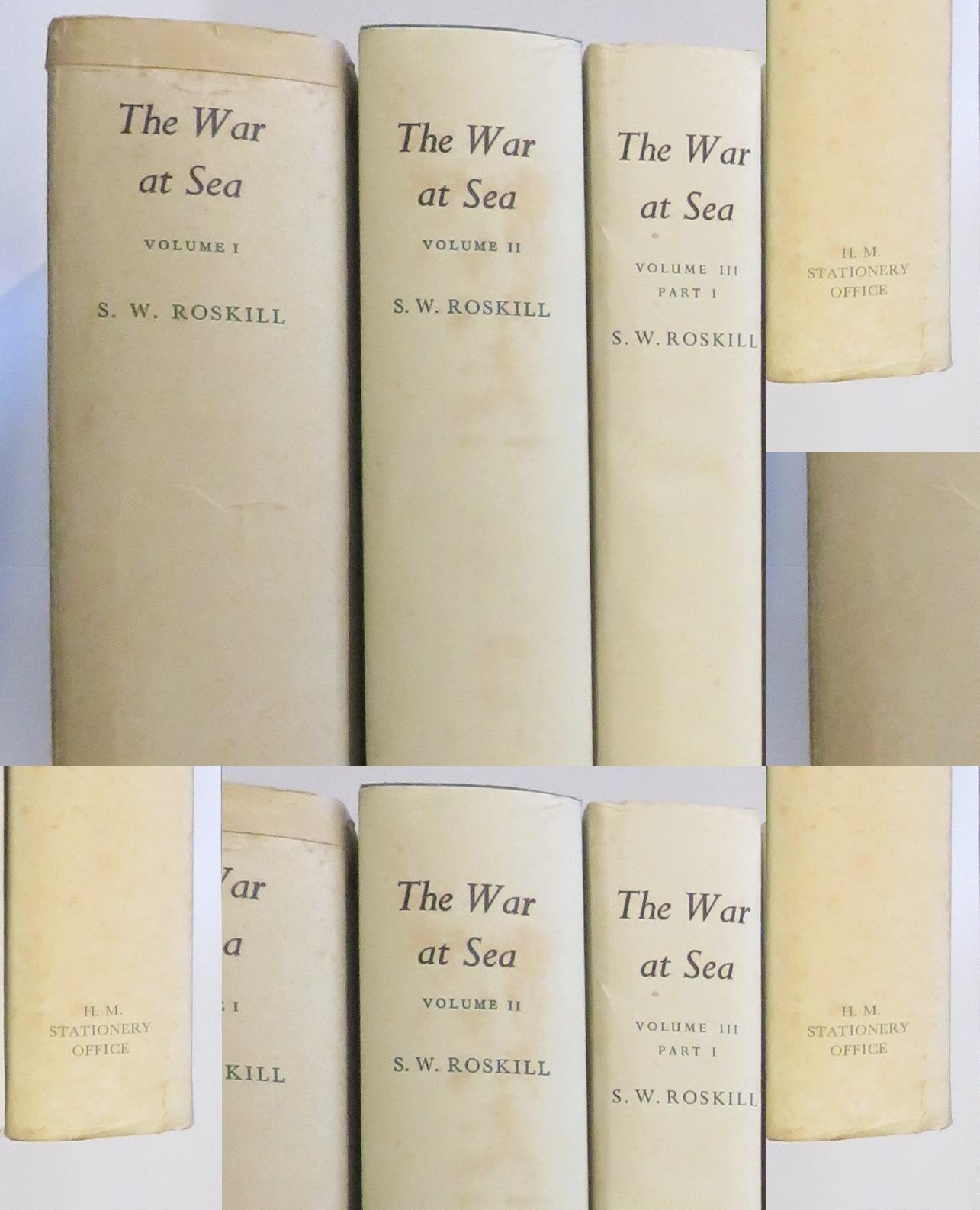 The War at Sea, 4 Volume Set