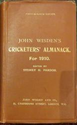 **John Wisden's Cricketers' Almanack For 1910**