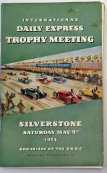 International Daily Express Trophy Meeting Silverstone Saturday May 9th 1953